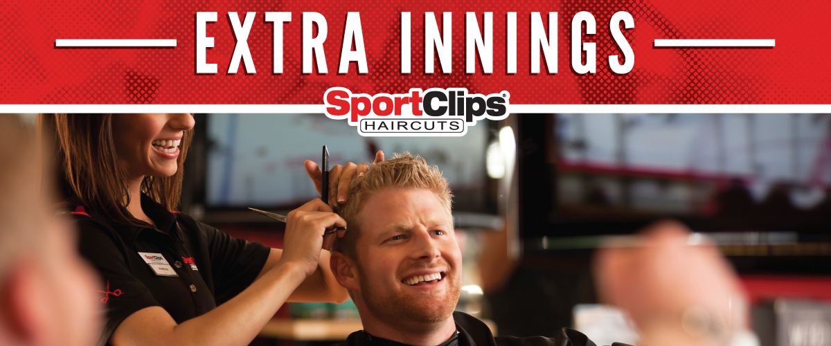 The Sport Clips Haircuts of Lincoln  Extra Innings Offerings